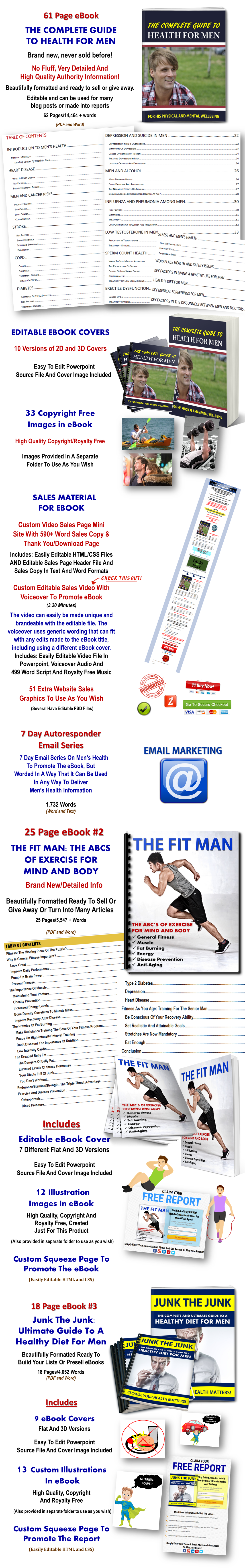 Men's Health And Fitness PLR