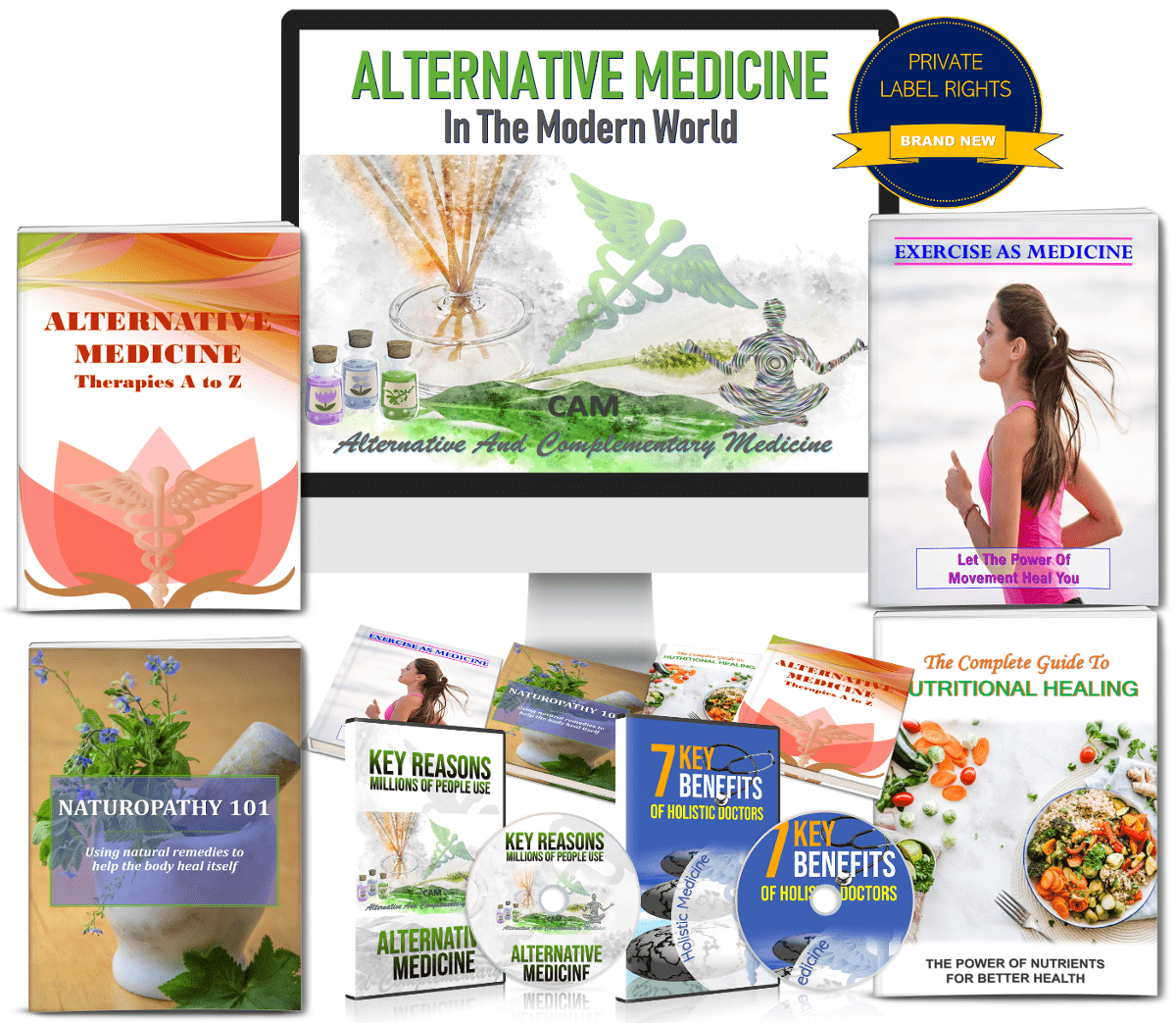 Alternative Medicine Content PLR Rights