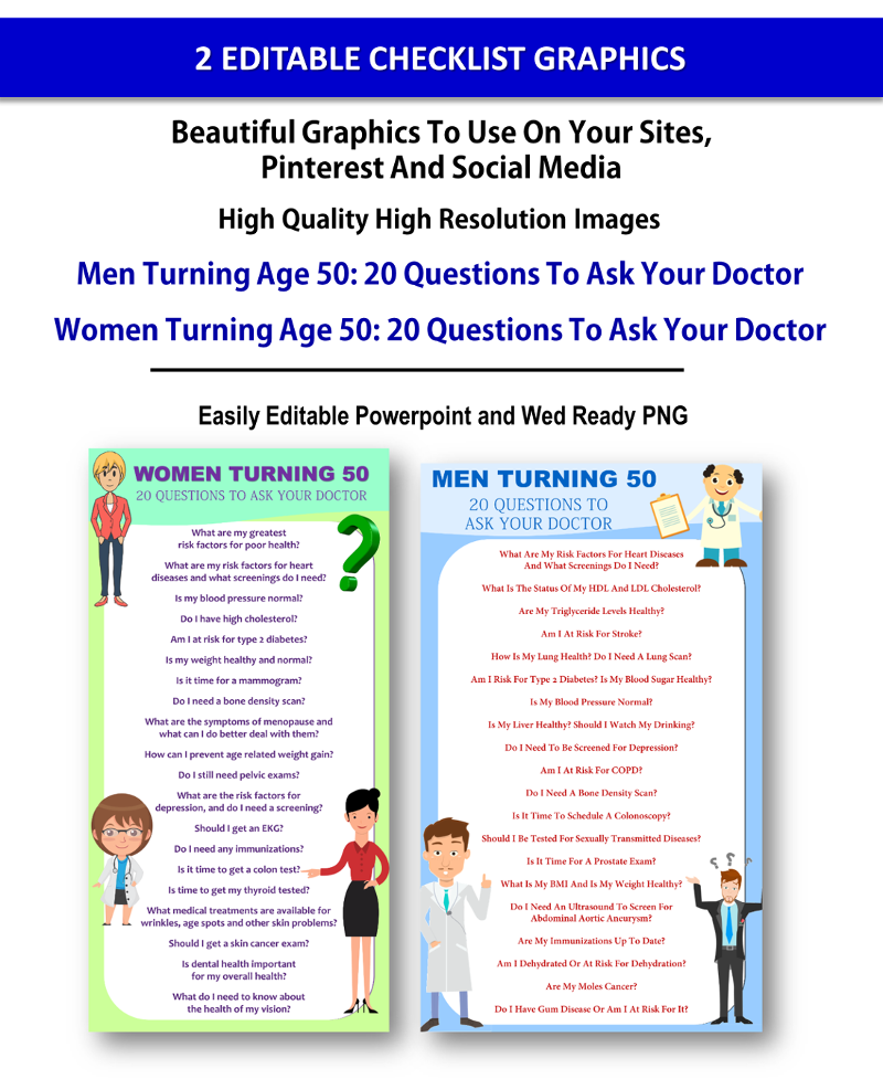 Aging Men and Women Health PLR