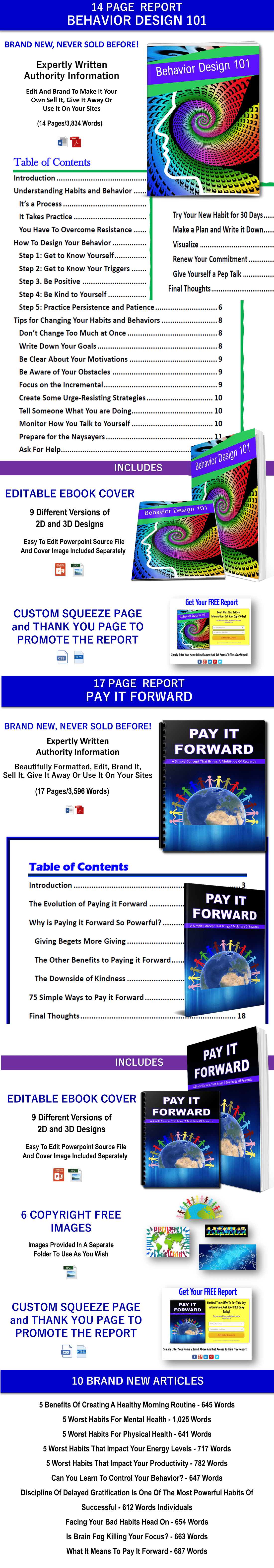 Pay It Forward PLR