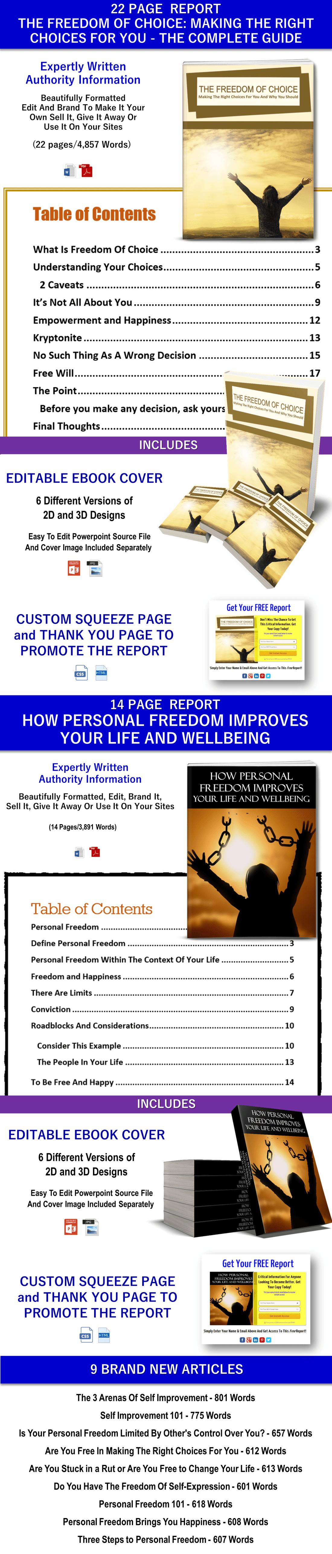 Personal Freedom PLR