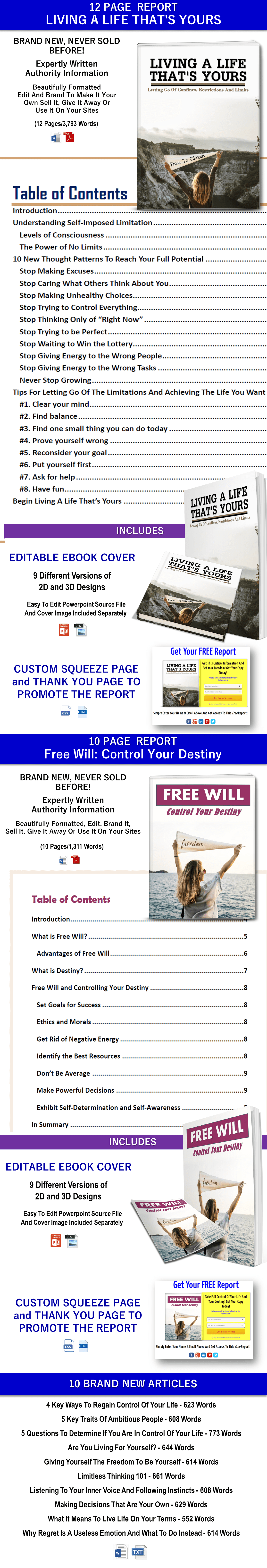 Treat Yourself Better PLR