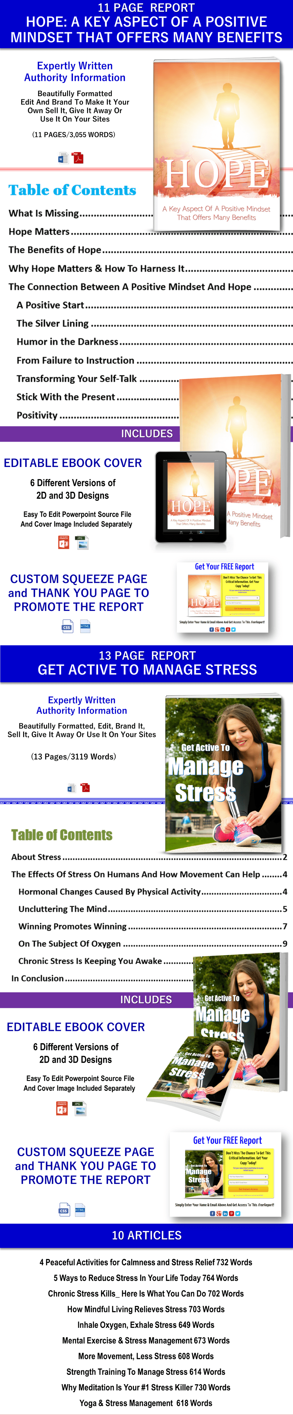 winning attitude report, self reliant reportm articles plr