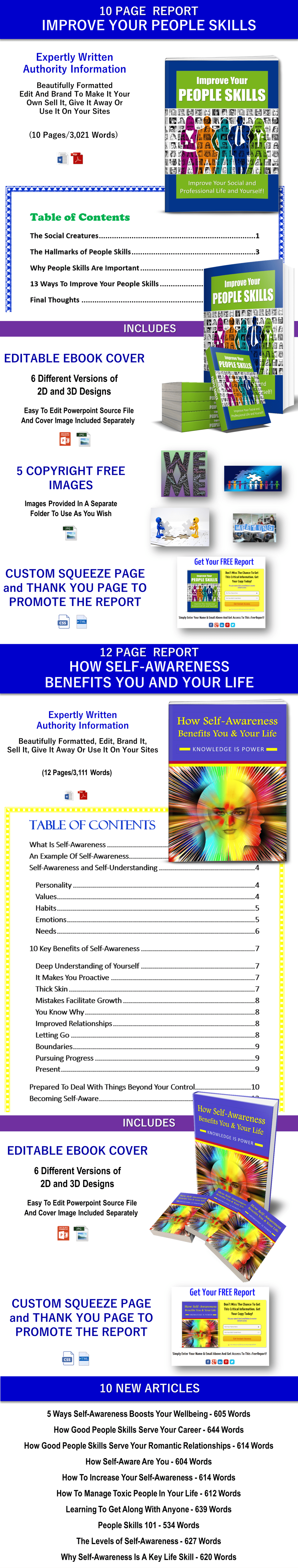 People Skills and Self-Awareness PLR