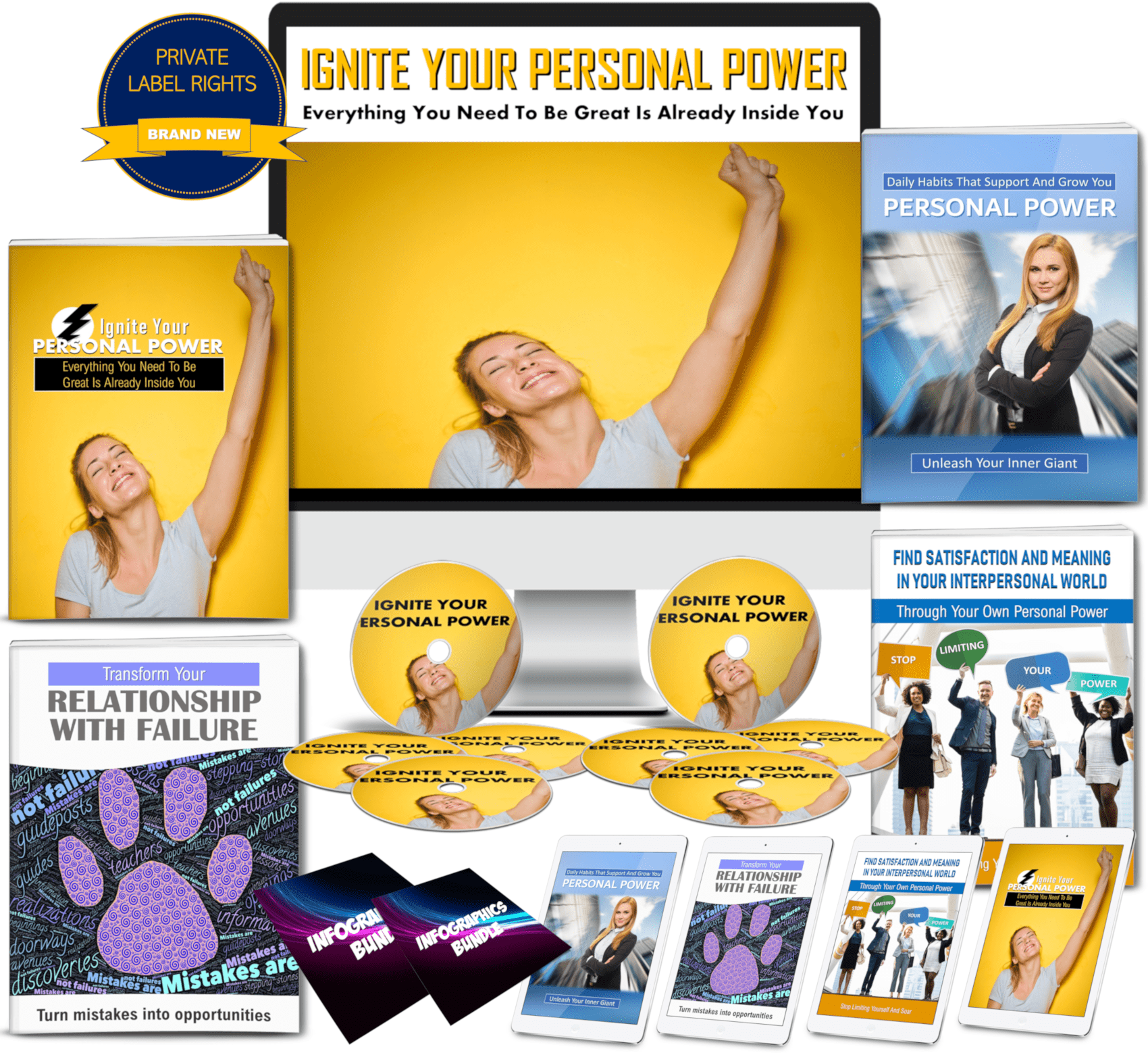 Increase your Personal Power Content With PLR Rights