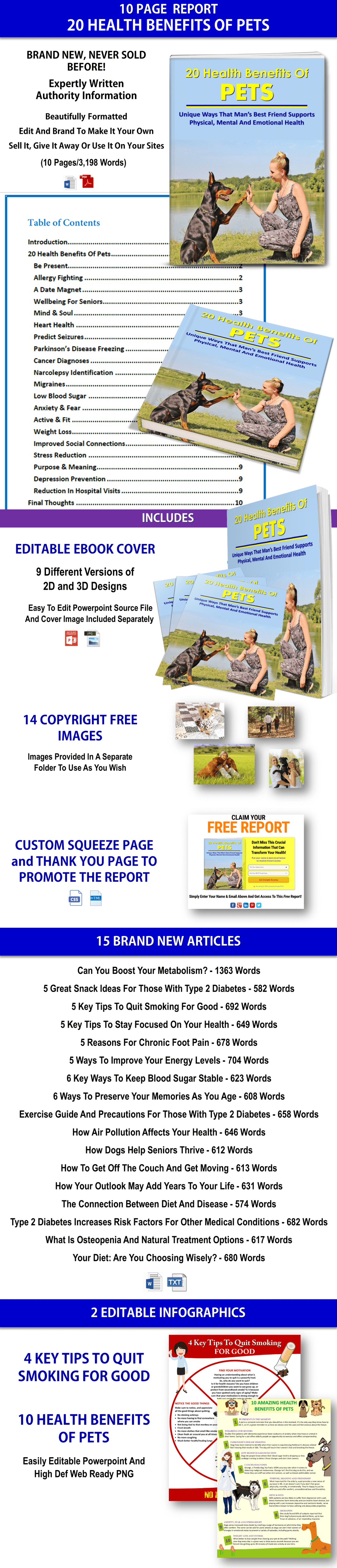 Health PLR, Diabetes PLR Articles, Infographics