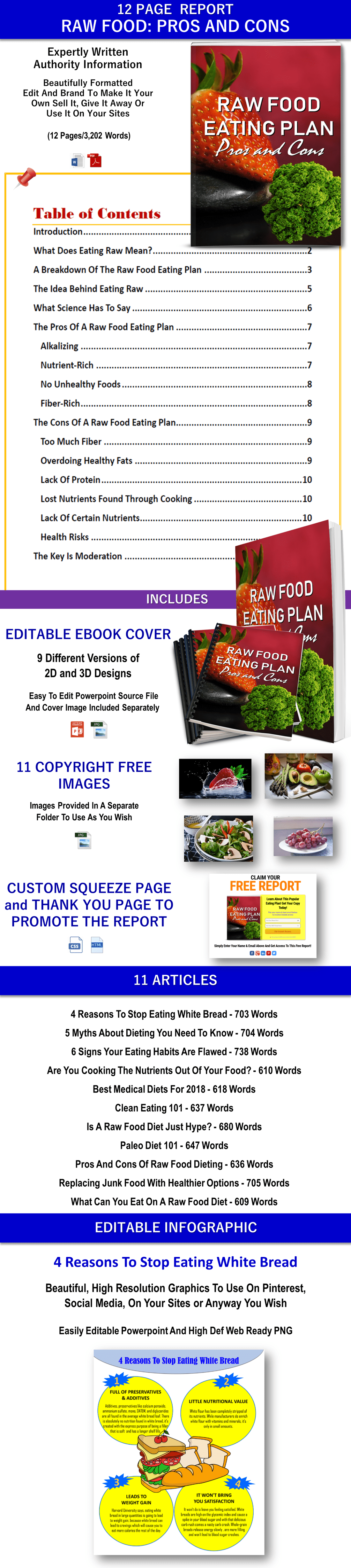 Huge Bundle Of Quality Health, Diet And Weight Loss Content with PLR Rights