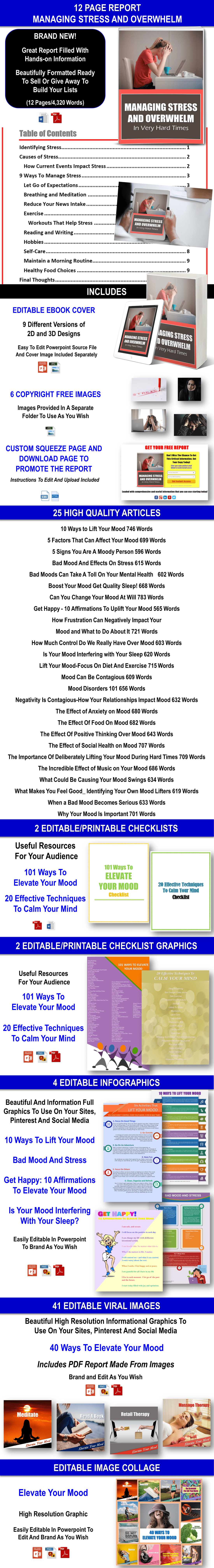 Elevate Your Mood: Get Through Difficult Times Giant Content with PLR Rights