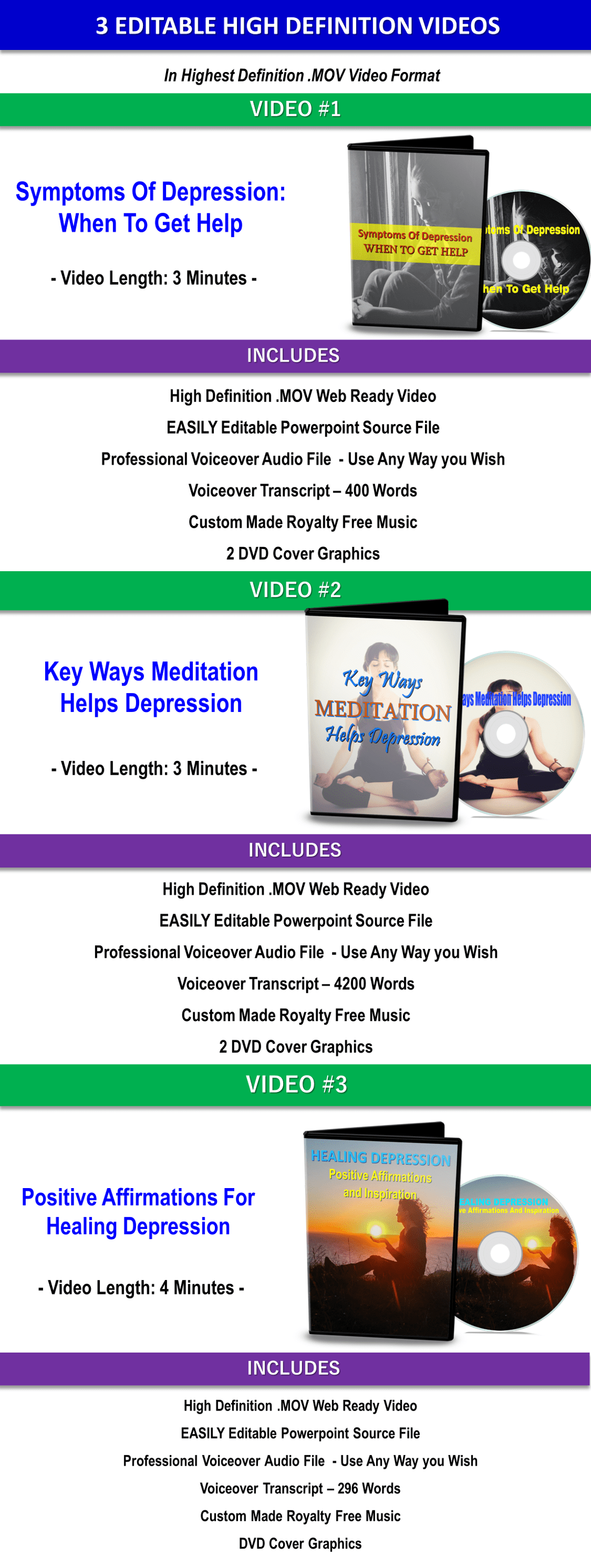 Affirmations + 13 Guided Meditations Get Through Hard Times - PLR Rights