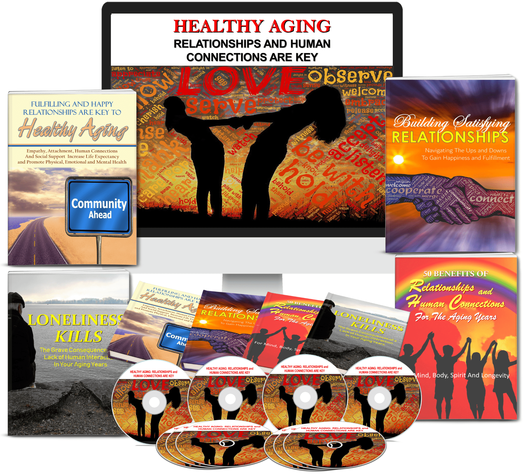 Healthy Aging - Relationships Are Key PLR