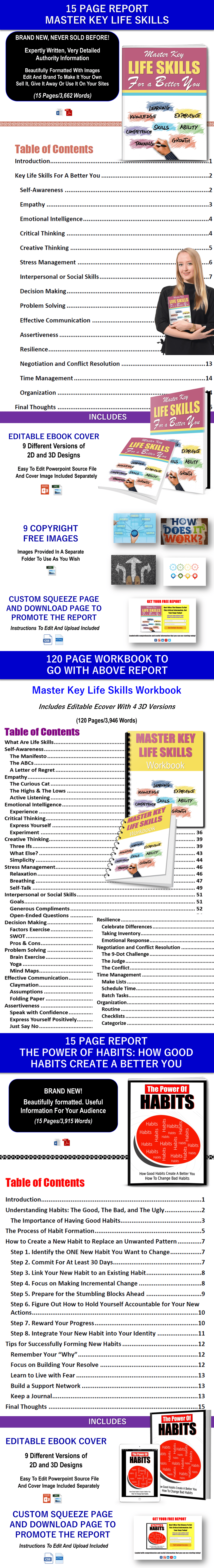 Master Life Skills Content - Private Label Rights