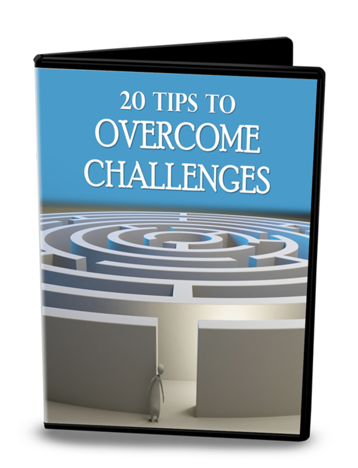 Overcome Life Challenges Content with PLR Rights