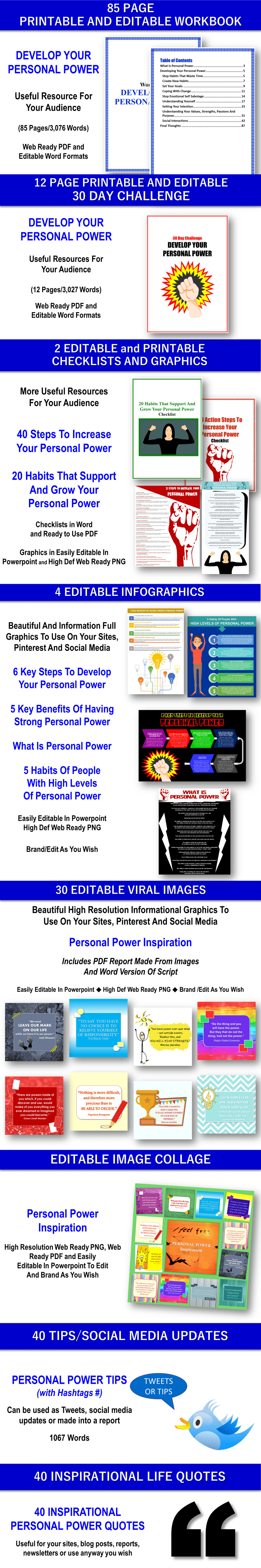 Personal Power Personal Development PLR