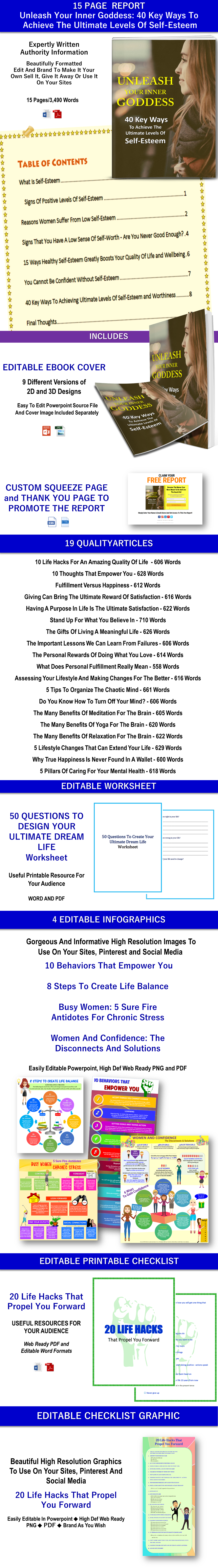 Self-help, Self-improvement PLR Bundle