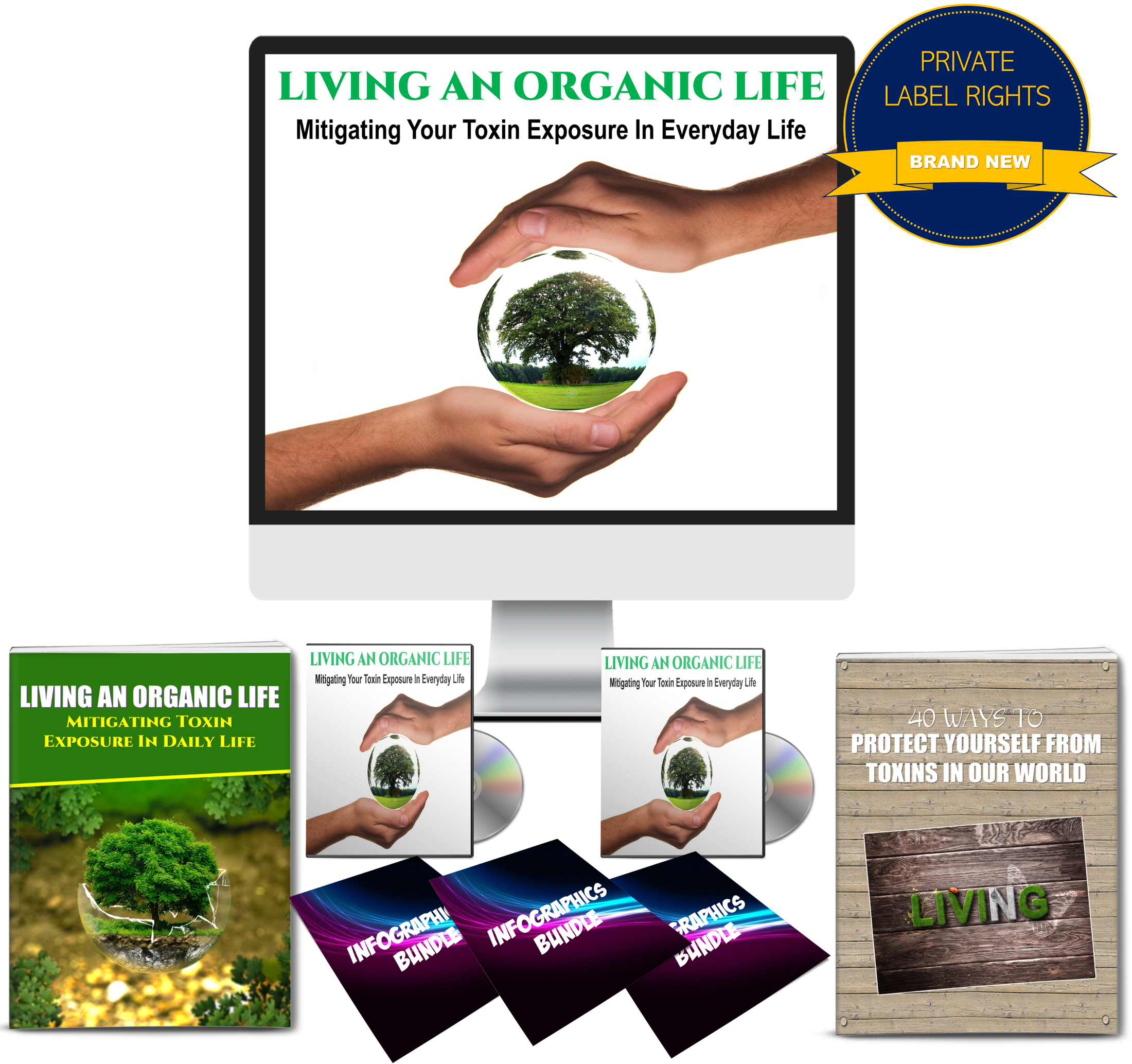 Living An Organic Life: Mitigating Toxin Exposure Content with PLR Rights