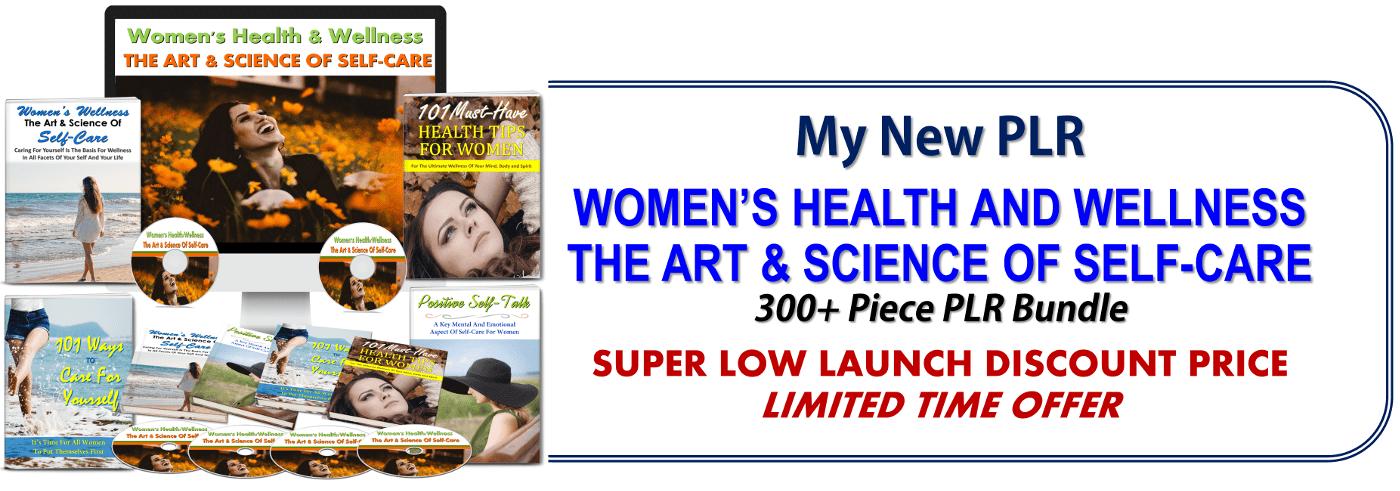Women's Health Self-Care PLR