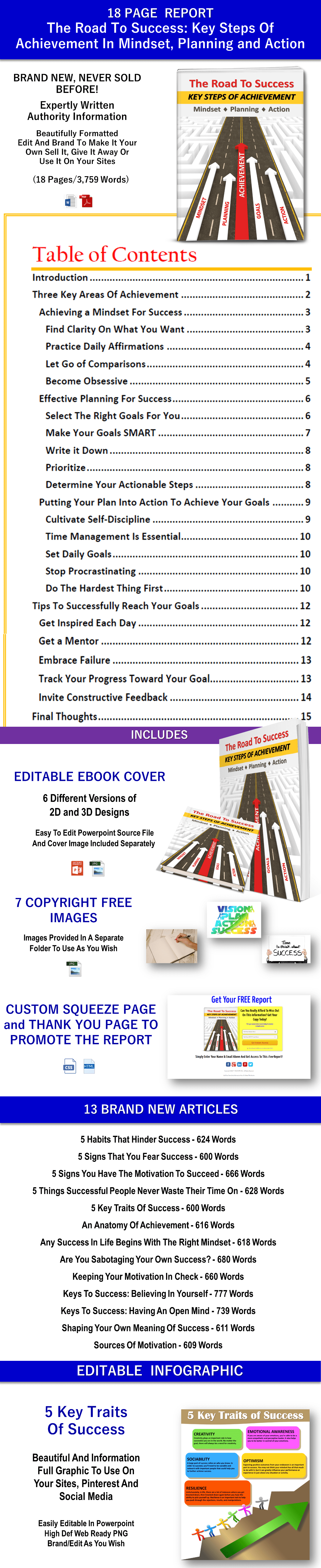 Achieving Success PLR