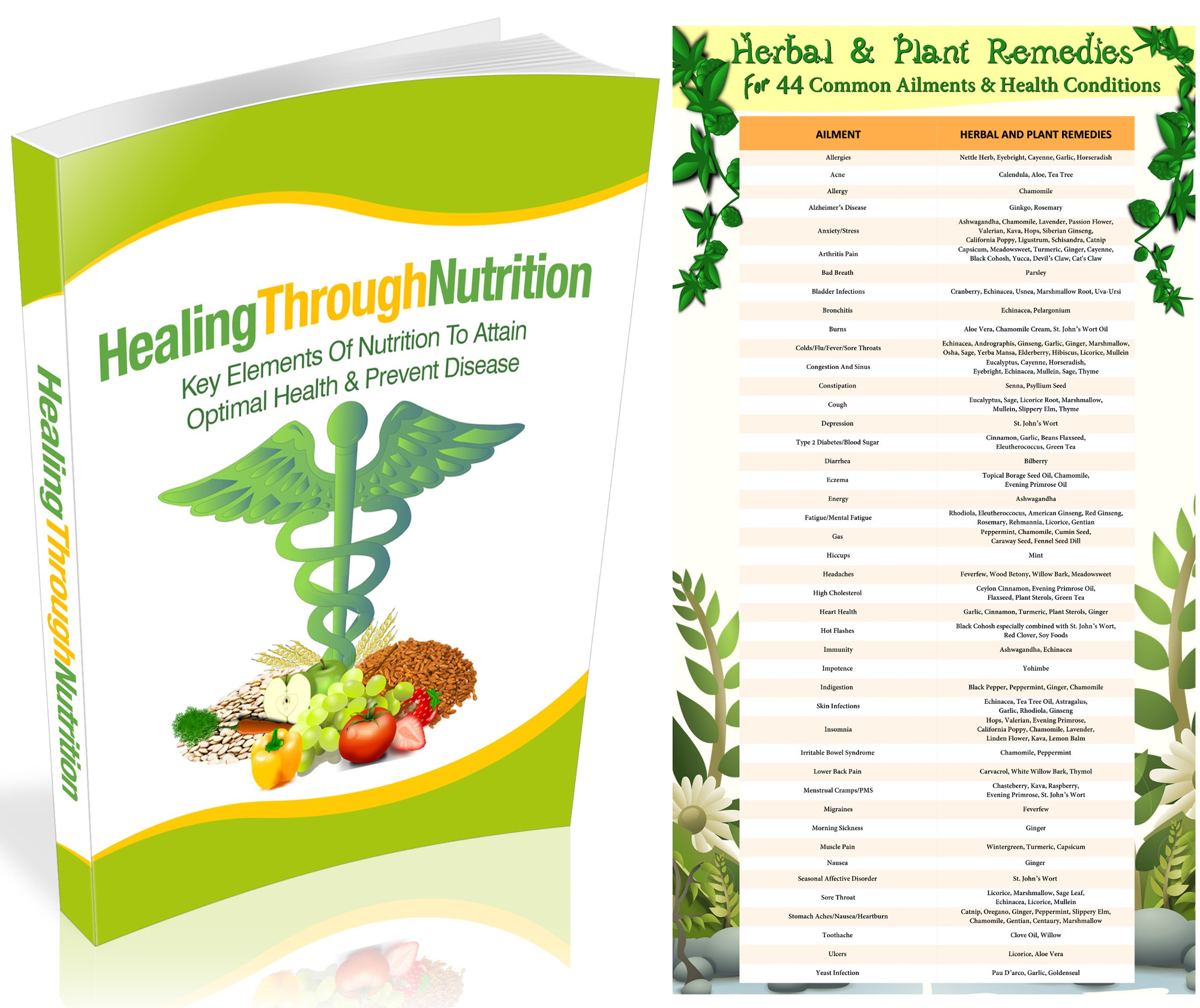 Healing With Herbs PLR