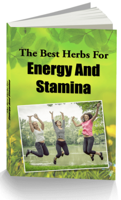 Herbs For Energy PLR eBook and Articles