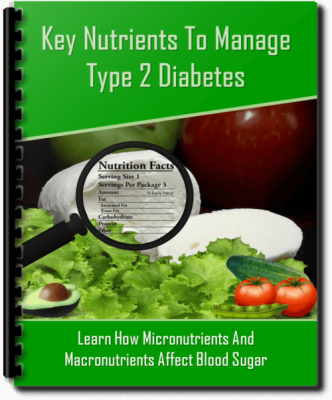 Nutrition For Type 2 Diabetes PLR