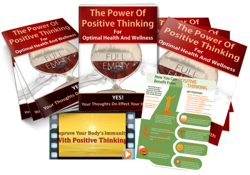 positive thinking health wellness plr
