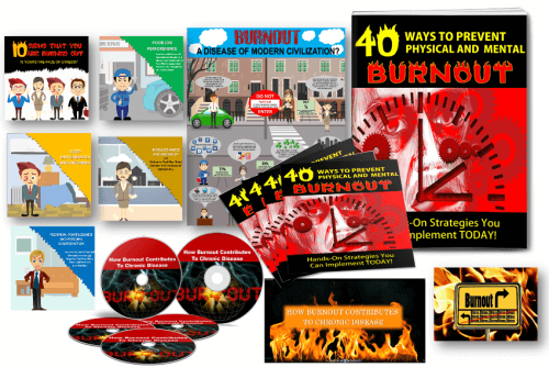 Burnout/Stress eBook PLR