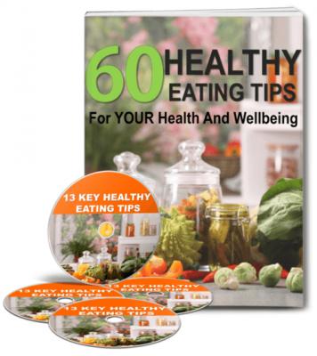 healthy eating tips plr