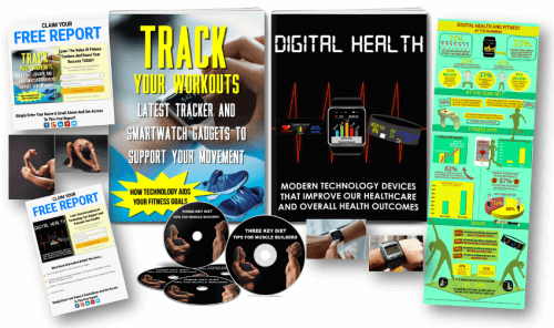 Digital Health And Fitness PLR Pack