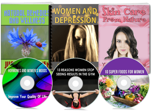 womens depression, wellness, beauty PLR