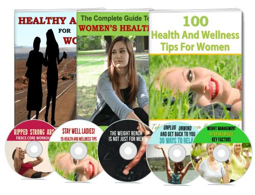 Womens Health PLR eBooks Videos