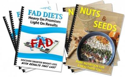 Nuts/Seeds, Fad Diets Healthy Eating PLR