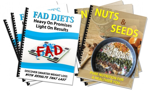 Nuts/Seeds, Fad Diets Healthy Eating PLR