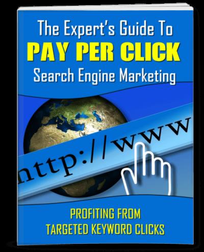Pay Per Click Marketing eBook, Articles PLR