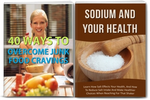 Sodium 101, Junk Food Cravings And Healthy Diet Articles PLR