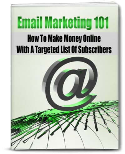 Email Marketing 101 eBook PLR
