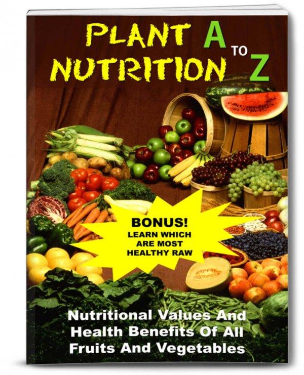 Plant Nutrition Juicing PLR