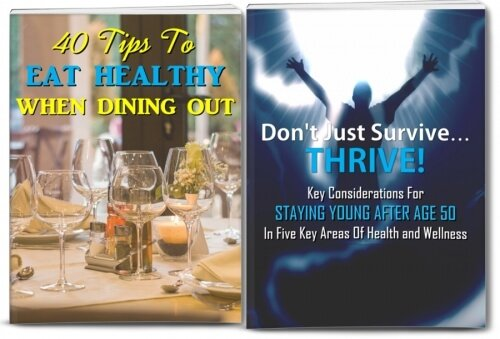 Healthy Foods And Thriving In Aging PLR