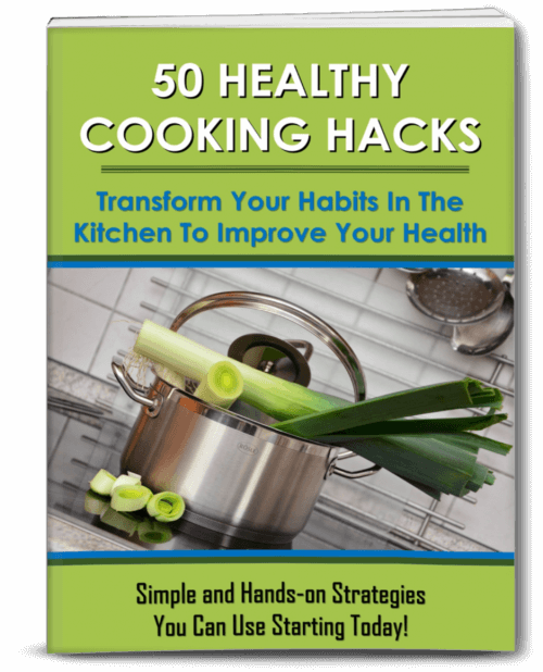 Healthy Cooking Hacks PLR