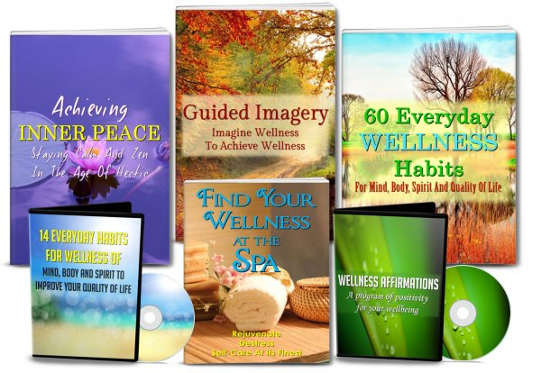 inner peace, spa and guided imagery plr pack