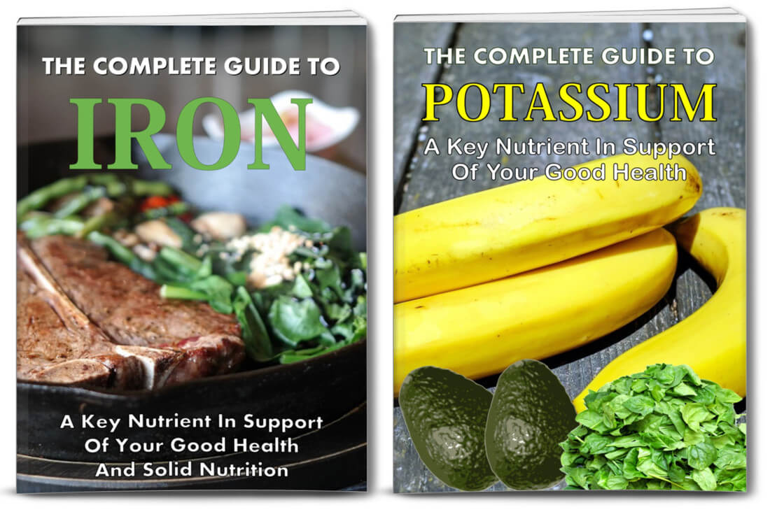 nutrition plr - iron and potassium reports
