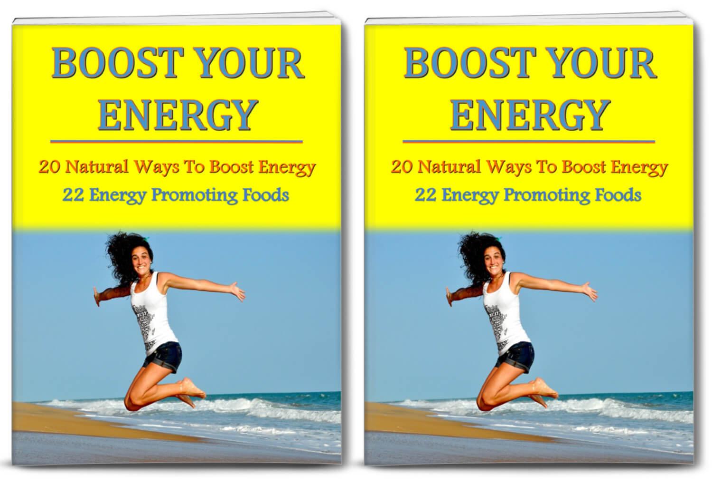 Boost Your Energy PLR