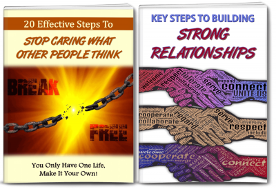 Stop Caring What People Think/Relationships PLR
