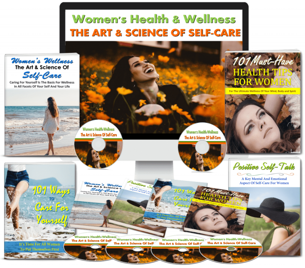 womens stress and self-care plr