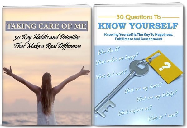 30 Habits To Take Care Of Me Report, 30 Questions To Know Yourself Reports PLR