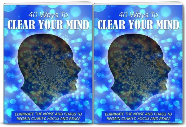 clear mind self-help plr