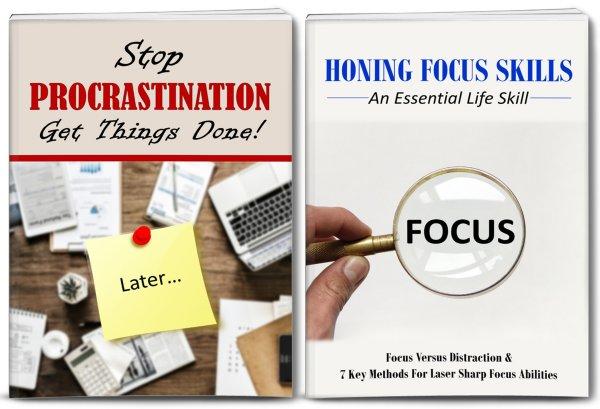 procrastination focus plr