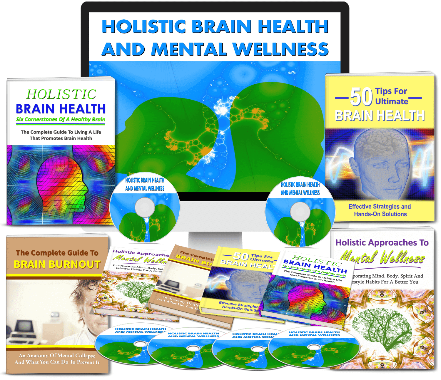 holistic brain health and mental wellness plr