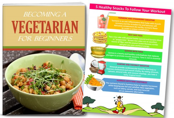 vegetarian plr