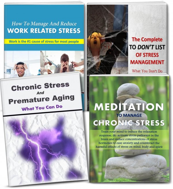 manage stress plr