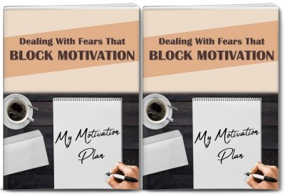 fears that block motivation plr